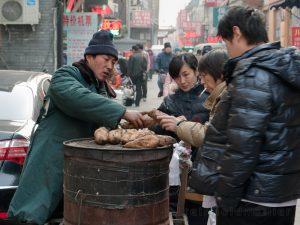 Asien, China, Lebensmittel, Personen
