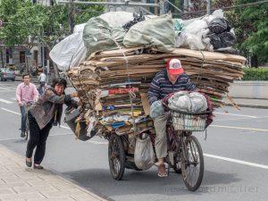 Arbeiter, Asien, China, Personen, Shanghai