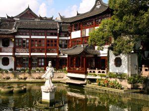 Asien, China, Gärten, Natur, Shanghai