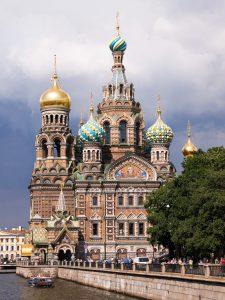 Europa, Kirchen, Russland, Sankt Petersburg
